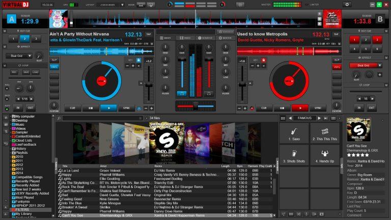 Virtual DJ Mac Crack 8.4.5874 Full Version 2020 Free Download
