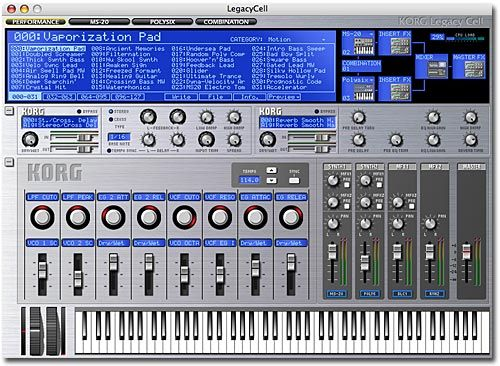Korg Legacy Special Collection (Mac) + Full Crack Free Download