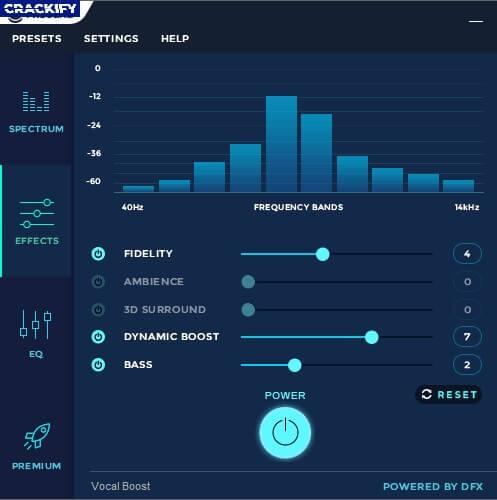 DFX Audio Enhancer Crack